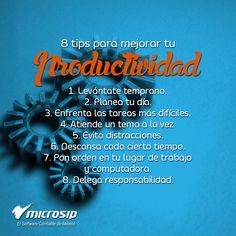 #TipsMicrosip 8 tips para mejorar tu productividad
