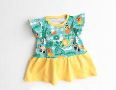 Girl Baby Girl Dress sewing pattern Pdf, SWEETHEART Flutter Sleeve Knit Dress, Size newborn 3m 6m 9m 12m 2 3 4 5 6 7 8 9 10 yrs by PUPERITA on Etsy https://www.etsy.com/listing/170244962/girl-baby-girl-dress-sewing-pattern-pdf