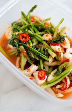 Yeolmu kimchi (Baby radish kimchi)