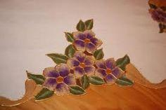 violetas pintadas - Buscar con Google