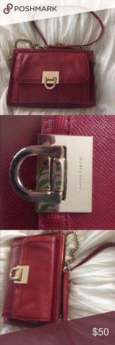 Ivanka trump red crossbody bag. Like new without tags. Ivanka Trump Bags Crossbody Bags
