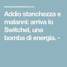 Addio stanchezza e malanni: arriva lo Switchel, una bomba di energia. -