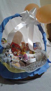 Chocolateria Doce Paladar - cestas de café da manhã: Cesta Infantil Ternurinha - 30 itens