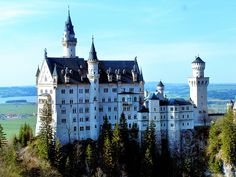 Neuschwanstein Castle in Germany. The castle that was in the movie Chitty Chitty Bang Bang!