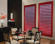 Red Shutters for Canada Day! Happy Canada Day everyone!