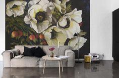 Os incríveis florais de Diana Watson agora como papel de parede   Fabiola Paulsen