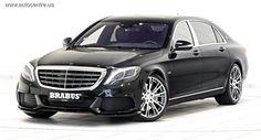 Brabus тюнинговал Mercedes-Maybach S600. После доводки топовая модель Mercedes-Maybach S600 выдает 900 л.с. и 1500 Нм!