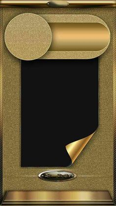Gold and Black Lockscreen