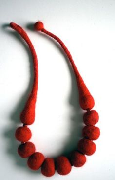 Chunky Felt Necklace