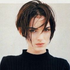 """A 90s Winona, complete with curtains, on #anotherloves"""