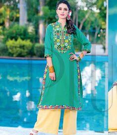 Plush Embroidered Kurtis Eid Collection by Riaz Arts EK_42