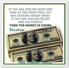 *Abraham-Hicks Quotes. (AHQ114) https://www.facebook.com/iam.wealthy.3?ref=tn_tnmn