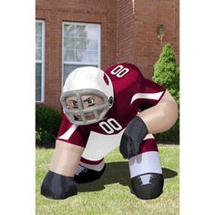 NFL Arizona Cardinals Bubba Inflatable Lawn Figurine
