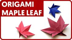 [DIAGRAM] Origami Maple Leaf (Roman Diaz)