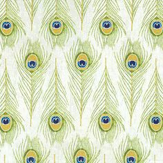 Exotic - Peacock Feather Rows -Quilt Fabrics from www.eQuilter.com