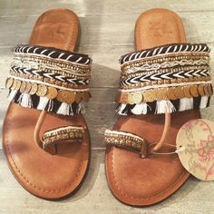 Moroccan Sandals SELLING FAST!!!! A FEW SIZES LEFT