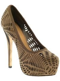 I have these!! Peep toe different color.. Dope