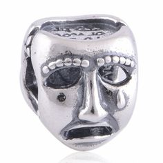 LW281 Antique Solid Sterling 925 Silver Genuine Charm Beads [The world's a Stage] Fit Bracelets,Clown,Dancing,Smile by TaoTaoHas on Etsy