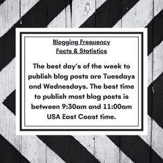 @blackellis0792 posted to Instagram: Blogging Frequency – Facts & Statistics #blogpost #blogging #bloggingtips #bloggers_universe Beauty Secrets, Social Media Marketing, Lifestyle Blog, Blogging, Facts, Motivation, Statistics, Words, Universe