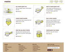 Teapigs Matcha page