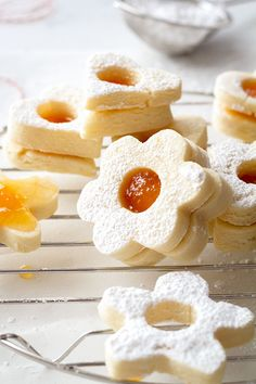 Easy Butter Shortbread Cookies — So easy to make and spectacular, these buttery shortbread cookies taste divine and literally melt in your mouth.