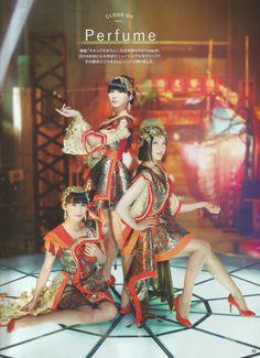 "starminesister: "" Perfume in AnAn magazine [2014.07.23]. """