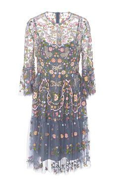 Dragonfly Garden Tulle Dress   Needle & Thread