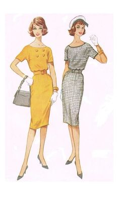McCalls 5503 Sewing Pattern 1960s Vintage Easy To by HappyIFoundIt