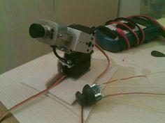 Pan Tilt camera with Arduino and Joystick