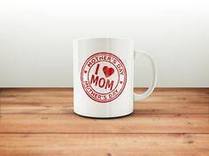 I love Mom Mug / Mothers Day Gift / Mothers Day / Gift for Mom / Gift for Wife / Gift for Her / Mother Mug / Mother's Day / Mamma Bear Mug