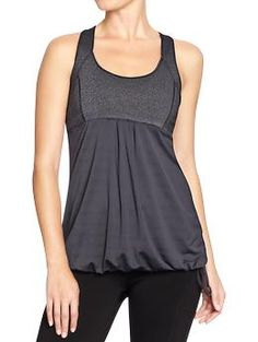 Women's Active by Old Navy Compression Tanks | Old Navy. Perfect for early months of maternity.