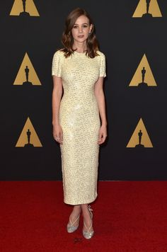 Carey Mulligan attends the Academy of Motion Picture Arts and Sciences' 7th Annual Governors Awards.