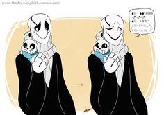Baby bones Sans is too cute