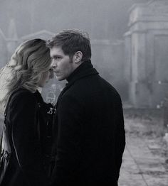 The Vampire Diaries ... Caroline and Klaus <3 <3 <3