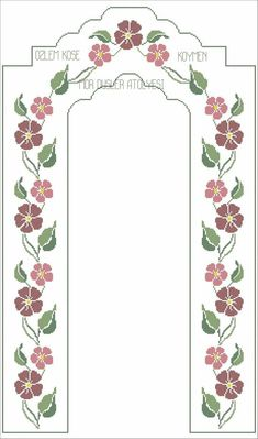 Simple Cross Stitch, Cross Stitch Flowers, Easy Crochet Patterns, Baby Knitting Patterns, Cross Stitch Designs, Cross Stitch Patterns, Prayer Rug, Yarn Shop, Bargello