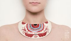 The Awesome Project : DOI/TWO porcelain jewelry line by MADALINA ANDRONIC-ROMANIA, via Behance