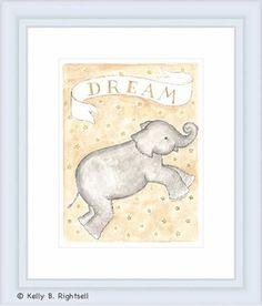 Dream Framed Lithograph #rosenberryrooms