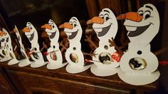Olaf with candy