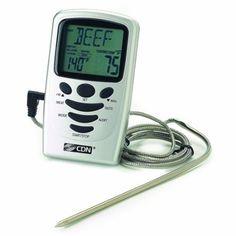 CDN Digital Programmable Probe Thermometer: Amazon.com: Home & Kitchen