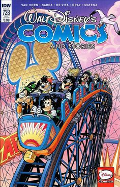 Cover for Walt Disney's Comics and Stories (IDW, 2015 series) #728 [Cover A]