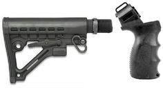 "Stealth Black Mossberg 500 535 590 835 Maverick 88 12 & 20 Gauge Shotgun ""Operator"" Buttstock With Rotating Push ""QD"" Strap Swivel, Storage Compartment & Slot Strap Loop AR-GEAR http://www.amazon.com/dp/B00OAHVD50/ref=cm_sw_r_pi_dp_pPPZvb06PJ5MH"