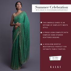 Go all out with ethnic outfits or add a twist of fusion, this wardrobe makeover gives you endless possibilities to experiment with your ethnic looks for your upcoming summer weddings. To help you stock up for the season, we've created a must-have list of the prettiest traditional & contemporary sarees that can up your style game this sunny summer. Also, they are on amazing offers,  #10YearAnniversarySale   Sale Dates: 6th - 16th Feb Santacruz: SV, Next to Asha Parekh hospital Happy Shopping… Ethnic Outfits, Indian Outfits, Party Wear Dresses, Formal Dresses, Asha Parekh, Wardrobe Makeover, Ethnic Looks, Summer Weddings, Anniversary Sale