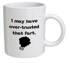 Here are 17 funny coffee mugs that are impossible not to laugh at. These funny mugs are so good, we made a try not to laugh challenge. Challenge accepted?  #coffee #coffeemugs