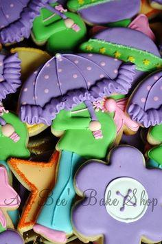 baby shower cookies-adorable!
