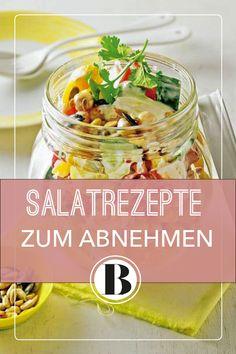 Bei leichten Salaten zum Abnehmen sind eurer Phantasie keine Grenzen gesetzt. Unsere vielseitigen Rezepte bringen die Pfunde im Handumdrehen zum Schmelzen. Snack Recipes, Healthy Recipes, Healthy Food, Potato Salad, Food And Drink, Low Carb, Mexican, Lunch, Ethnic Recipes