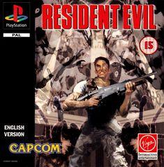Resident Evil Playstation, Playstation Games, Xbox Games, Final Fantasy X, Metal Gear Solid, Resident Evil Video Game, Videogames, Gamer 4 Life, Nintendo