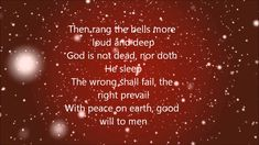 Simply Exquisite - Casting Crowns - I Heard The Bells On Christmas Day (Lyrics)