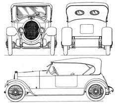 Apperson Automobile Design, C. Car Design Sketch, Car Sketch, Blueprint Drawing, Automobile, Model Sketch, Poster Ads, Car Drawings, Wood Plaques, Tecno