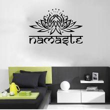 Recién llegado de la India Mandala loto Ganesha ídolo pegatinas de pared buda art Stickers Decal Home Living Room Decal9478