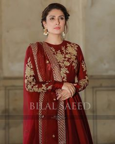 Eid collection's of with Jewellery by Hair and makeup by Photography by And Pakistani Fashion Party Wear, Pakistani Wedding Outfits, Pakistani Bridal Dresses, Pakistani Dress Design, Bollywood Fashion, Shadi Dresses, Pakistani Formal Dresses, Indian Dresses, Eid Dresses